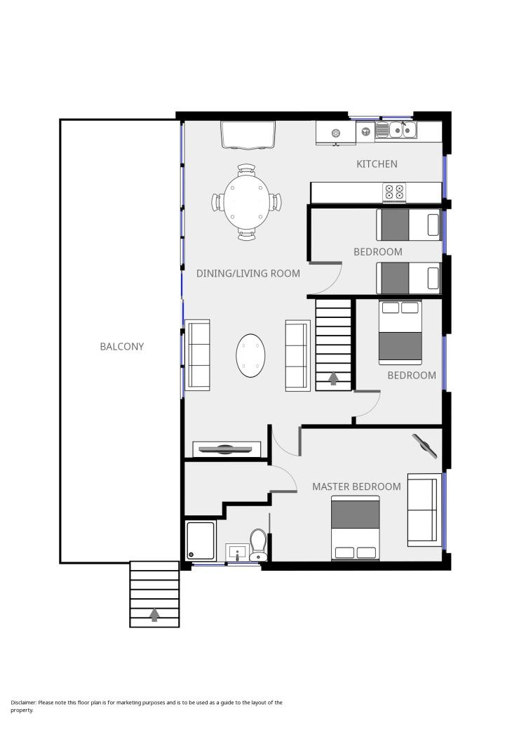Bermagui beach house - 1st Floor